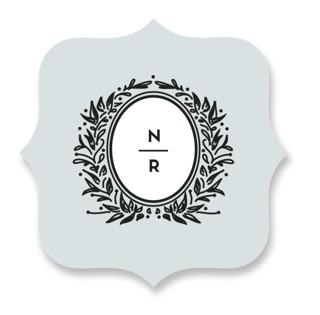 Endure Wedding Favor Stickers