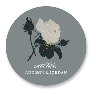 Romanticism Wedding Favor Stickers
