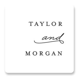 Gallant Wedding Favor Stickers