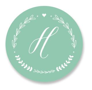 Always Wedding Favor Stickers