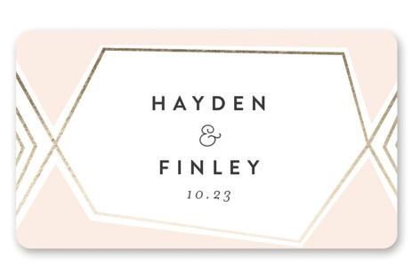Bichon Wedding Favor Stickers