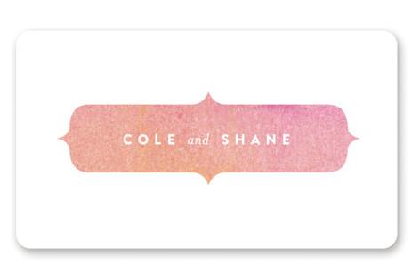 Sunsprite Wedding Favor Stickers
