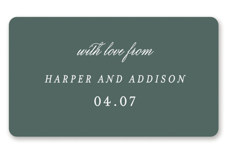 Love is Love Wedding Favor Stickers