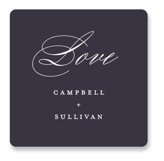 Prelude Wedding Favor Stickers