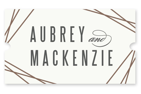 Elegance Wedding Favor Stickers