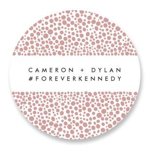 Foundry Wedding Favor Stickers