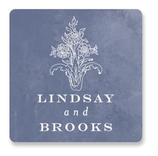 Ornate Wedding Favor Stickers