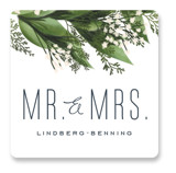 Diamante Wedding Favor Stickers