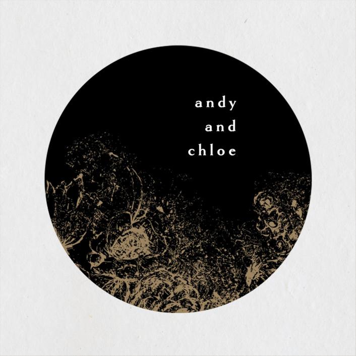 """fairytale dust"" - Wedding Favor Stickers in Midnight by Phrosne Ras."