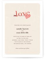 Cozy Print-It-Yourself Wedding Invitations