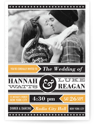 Poster Gig Print-It-Yourself Wedding Invitations