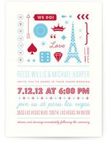 Bet on Love Print-It-Yourself Wedding Invitations