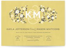 Cheerful Bloom Print-It-Yourself Wedding Invitations