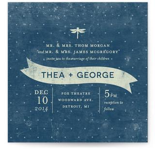 Twinkle Print-It-Yourself Wedding Invitations