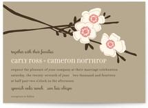 Apple Blossom Print-It-Yourself Wedding Invitations