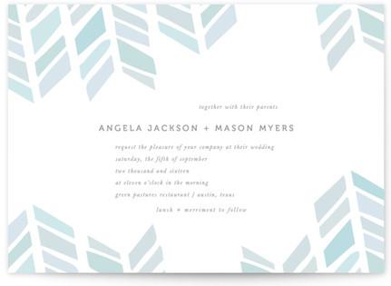 Arrow Head Print-It-Yourself Wedding Invitations