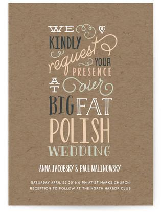 Our Big Wedding Print-It-Yourself Wedding Invitations
