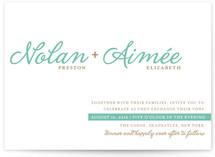 Raising the Bar Print-It-Yourself Wedding Invitations