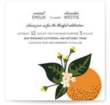 Citrus Crush Print-It-Yourself Wedding Invitations
