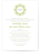 Modern Celtic Knot Print-It-Yourself Wedding Invitations
