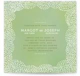 The Pointillist Print-It-Yourself Wedding Invitations