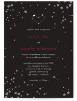Celestial Print-It-Yourself Wedding Invitations
