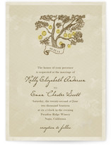 Whimsical Tree with Lanterns Print-It-Yourself Wedding Invitations