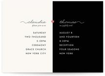 My Other Half Print-It-Yourself Wedding Invitations