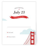 I Heart SF Print-It-Yourself RSVP Cards
