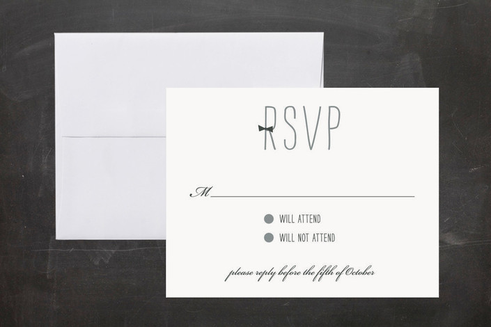 formal attire print it yourself rsvp cards by kim dietrich elam minted