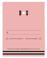 Love, Sweet Love Print-It-Yourself RSVP Cards