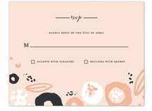 Modern Meadow Print-It-Yourself RSVP Cards