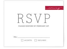 Modern Princess Print-It-Yourself RSVP Cards