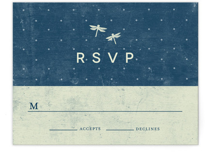 Twinkle Print-It-Yourself Wedding RSVP Cards