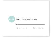 Retro Charm Print-It-Yourself RSVP Cards