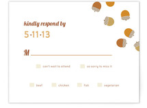 I'm Nuts for You Print-It-Yourself RSVP Cards