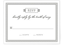 Time and All Eternity Print-It-Yourself RSVP Cards