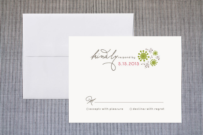 """""""Sea Shells by the Sea Shore"""" - Beach Print-it-yourself Rsvp Cards in Coral by Aspacia Kusulas."""