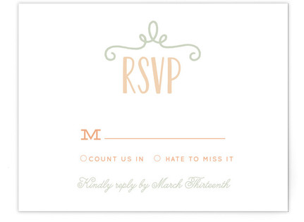 Our Big Wedding Print-It-Yourself Wedding RSVP Cards