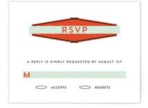 Merit Badge Print-It-Yourself RSVP Cards