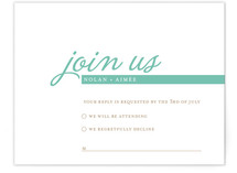 Raising the Bar Print-It-Yourself RSVP Cards