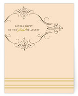 French Vintage Print-It-Yourself RSVP Cards