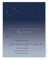 Star Map Print-It-Yourself RSVP Cards