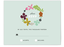 Celebrate Florals Print-It-Yourself RSVP Cards