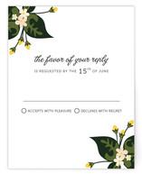 Citrus Crush Print-It-Yourself RSVP Cards