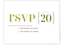 Love Lettered Print-It-Yourself RSVP Cards