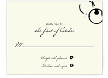 Classic Inkwell Print-It-Yourself RSVP Cards