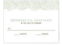 The Pointillist Print-It-Yourself RSVP Cards