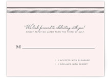Gramercy Print-It-Yourself RSVP Cards