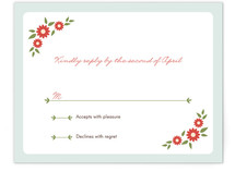 Sweet Chapel Print-It-Yourself RSVP Cards